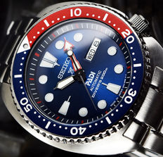 "Seiko Turtle ""Special Edition PADI"" – Automatic Diver's 200 m Made in Japan – New – Men's watch"