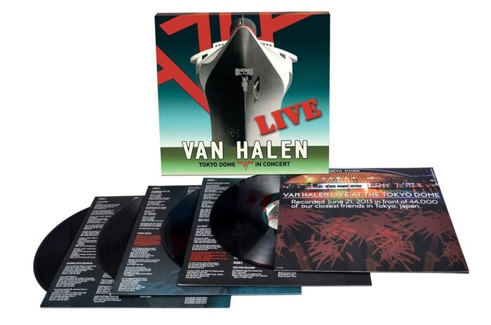 Van Halen - Tokyo Dome In Concert - 4 x LP 180 Gram Vinyl Box-Set / Sealed