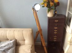 French industrial design lamp