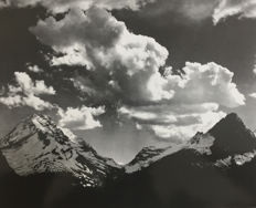 Ansel Adams (1902-1984) - In Glacier National Park #1, 1941 / In Glacier National Park #2, 1941