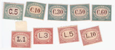 San Marino 1897-1931 - Postage due, complete series.