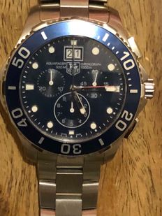 TAG Heuer - Aquaracer Chronograph - CAN1011 - Heren - 2011-heden