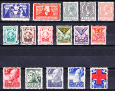 The Netherlands 1924/1927 - Small collection