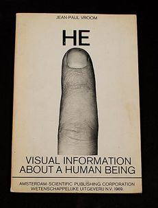 Jean-Paul Vroom - HE, visual information about a human being - 1969