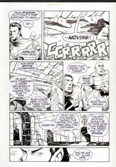 Scott Reed - Original Art Page - The Last Odyssey (2011)
