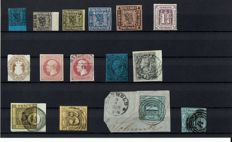 LOT Old Germany - batch of 15 stamps