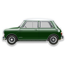 SL - Wall Scale Model Halmo Collection Mini Cooper