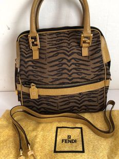Fendi - Zebra handbag/cross-body/shoulder bag