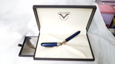 Penna Roller Visconti Rembrandt Blue madreperla con scatola