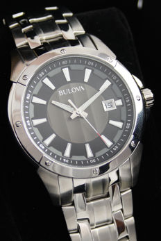 Bulova Dress Analogue with Steel Casing and Bracelet.