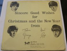 Sincere Good Wishes for Christmas and the New Year from John Paul George and Ringo