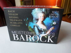 60 CD's Baroque Masterpieces Limited Edition