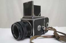 """Salute-C"" with a ""Vega-12B"" lens. Prototype ""Hasselblad 1600F"". The USSR ""Arsenal"" 1957-1980"