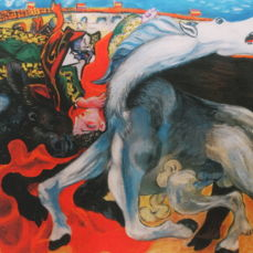 Pablo Picasso (after) - Bull Fight, Death of a Toreador