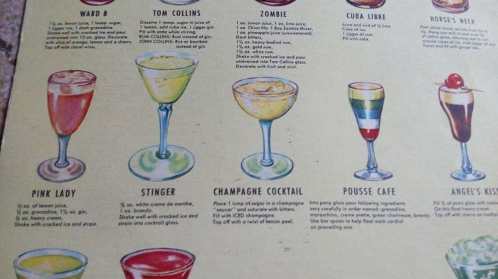 how to make popular bar drinks