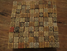 Monogram stamps / Initials, 100 different types of stamps, 20th century
