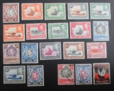 British Commonwealth - A selection on stock Cards