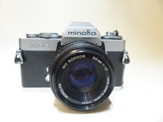 minolta XD5 with  50mm