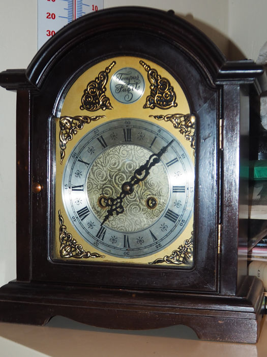 horloge pendule de table anglaise ancienne catawiki. Black Bedroom Furniture Sets. Home Design Ideas