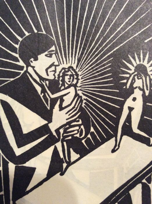 22 prints by Frans Masereel (1889 - 1972) -  Untitled.