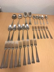Cutlery sets - for 2 people - English silver plated - Georg Nilsson