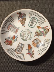 Porcelain plate - China - From the late 20th century
