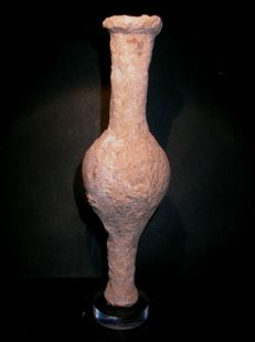 Roman terracotta Amphora - Ex Auction House Bernaerts. - 16.2cm