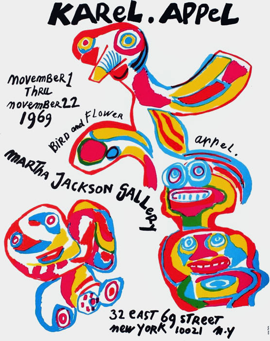 Karel Appel - Martha Jackson Gallery - 1969