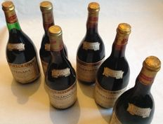 1974 Bertolo Amarone Valpolicella 2 bottles - 1964 Bertolo Barbaresco 2 bottles - 1967 Bertolo Barbaresco 1 bottle - 1964 Bertolo Gattinara 1 bottle - 6 bottles (75 cl)
