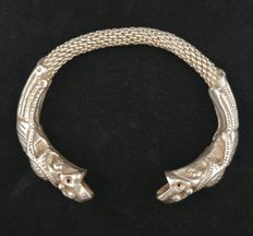 Antique silver bracelet – China, early 20th century.