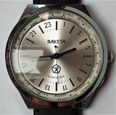 Raketa - Soviet Union USSR–24H watch 1977 - NOS-mint state - 男士 - 1980-1989