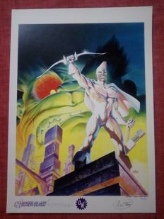 Jean-Yves Mitton - Rare Archer blanc A3 Limited Edition Print - Only 30 Produced - Numbered And Signed