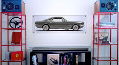 Halmo Collection Mustang Fastback Plexiglass Panel