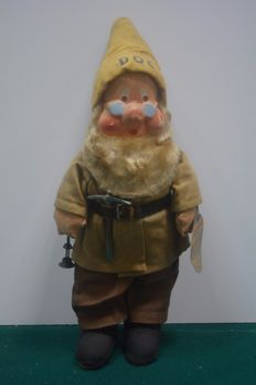 Disney, Walt - old Doc dwarf figure - rare and original - Snow White and the Seven Dwarfs (1930s)