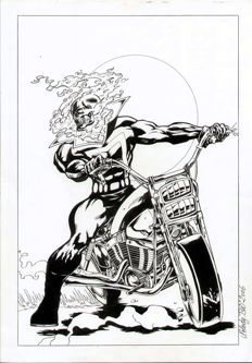 Nolody - Original Art Page - Ghost Rider (2006)