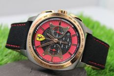 Scuderia Ferrari - Mens - Chronograph - Stainless Steel Watch - New & Perfect Condition
