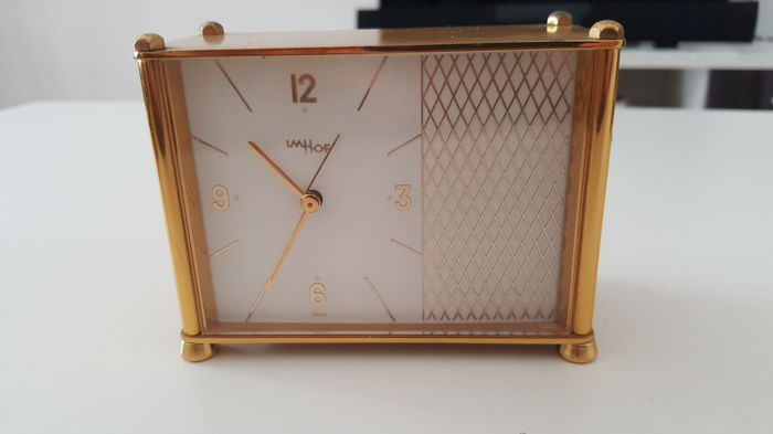 Table clock - Imhof - Swiss made, no. 51741 - year 1960