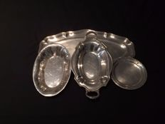 Lot of silver plated dishes (X4)