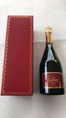 Cartier champagne brut cuvée - 1 bottle (75cl) in giftbox