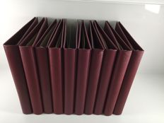 Accessories - SAFE 9 Ringbinder Favorit Morocco weinrot 704-1