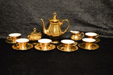 Bavaria Bareuther, Gold Mocca Set