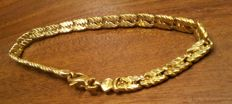 Bracelet in 18 kt yellow gold 8 g