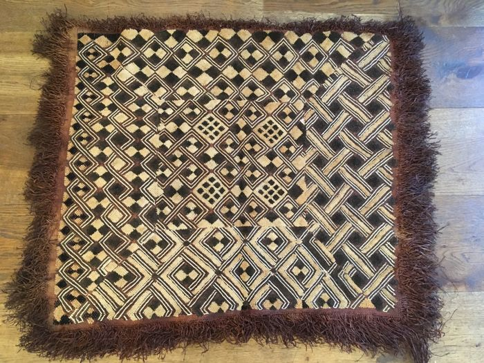 Traditional textile - SHOOWA - D.R of Congo