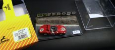 Art Model Dioramas Series - Scale 1/43 - Lot with 2 models: Ferrari 500TRC Targa Florio 1965 & Ferrari 268 Sport Le Mans 1962