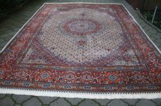 Original & Breathtaking fine authentic hand- knotted Persian Iran Moud 360x255 cm Top Condition & Quality