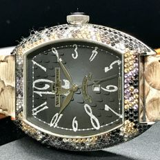 Van Der Bauwede - Snake collection with mixed gems case - 12902 Automatic  Movement with date - Unisex - 2011-present
