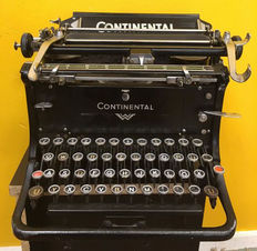 Typewriter Continental Standard from around 1940