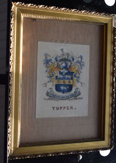 Coat of Arms -Tupper