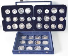 Europe - 36 different 1½ - 10 euro coins 2003/2006