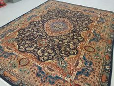 Rare Vintage Archaeological Design Hand Woven Persian Kashmar Rug 390X300 cm